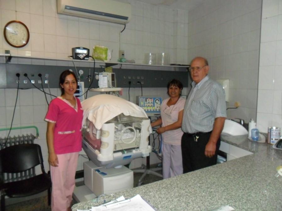 Visita al Hospital Duhau