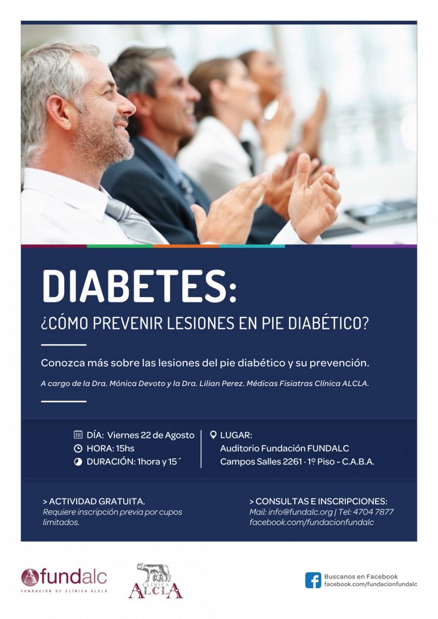 Diabetes: ¿Cómo prevenir lesiones en pie diabético?